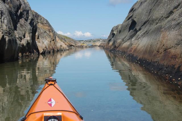 Arholmen paddling Koster