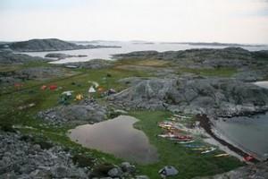 Rävholmen under Rävholmsträffen. Foto Ewa Westh.