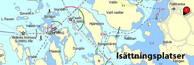 Isättningsplatser Bohuslän