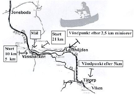 Götakanalloppet banskiss