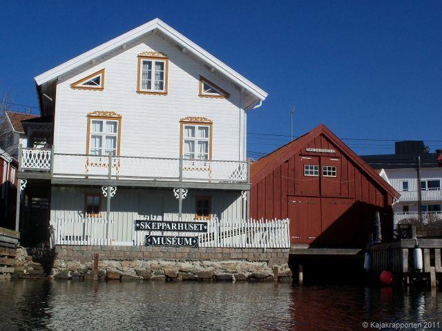 Gullholmen skepparmuseum skepparhuset