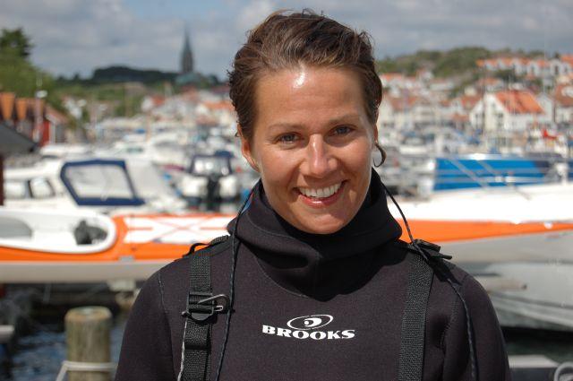 Ulrika Larsson i Grebbestad juli 2011