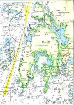 Oljeutsläpp Tjörn karta inkl Härön