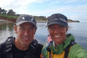 Ulrika Larsson och Nick fortsätter Danmark Runt
