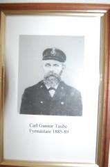 Carl Gunnar Taube, fyrmästare på Valö