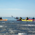 Vinterpaddling, att paddla på vintern vid Lysekil