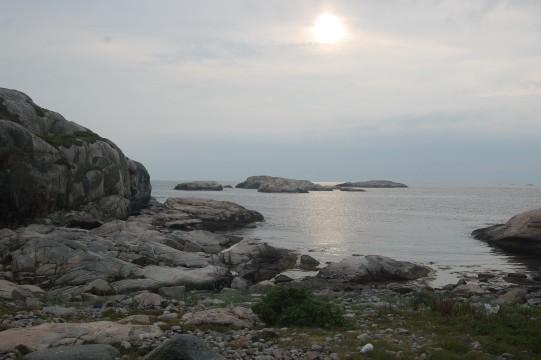 Ulsholmen nära Tjurpannan