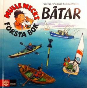 Barnbok om båtar kust skärgård hav bra