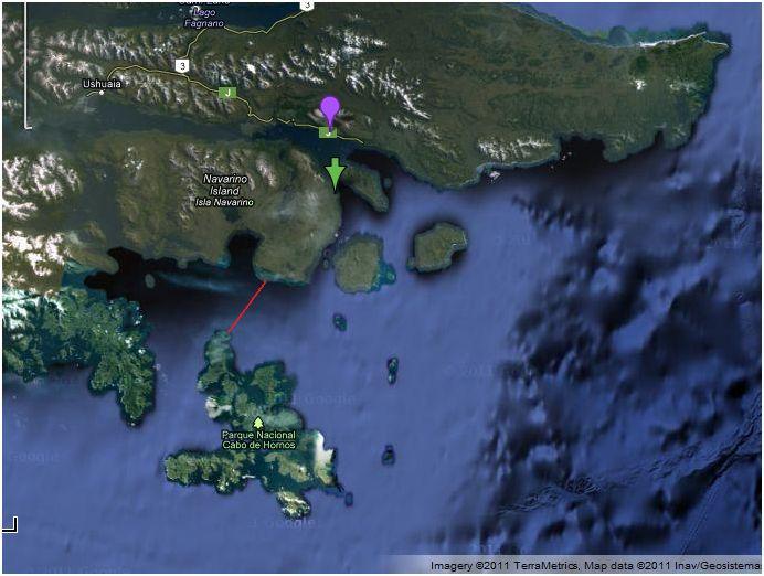 Freya Hoffmeister Cape Horn map