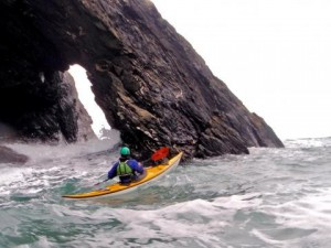 Paddling Anglesey Wales