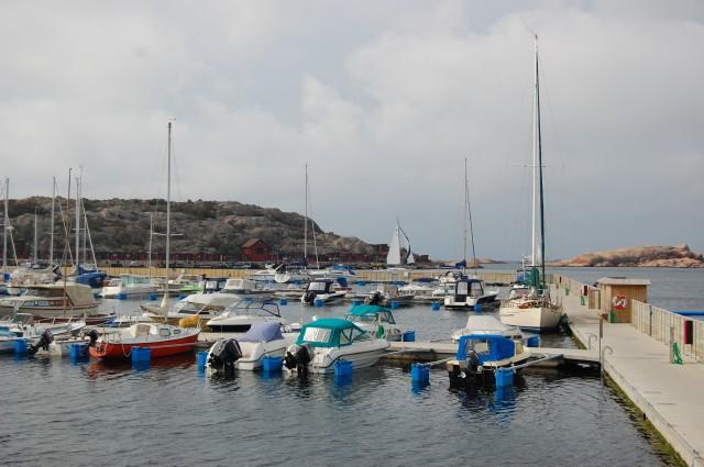 Norra hamnens båthamn Lysekil