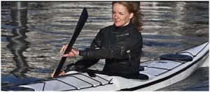 Sara Wagner paddlar