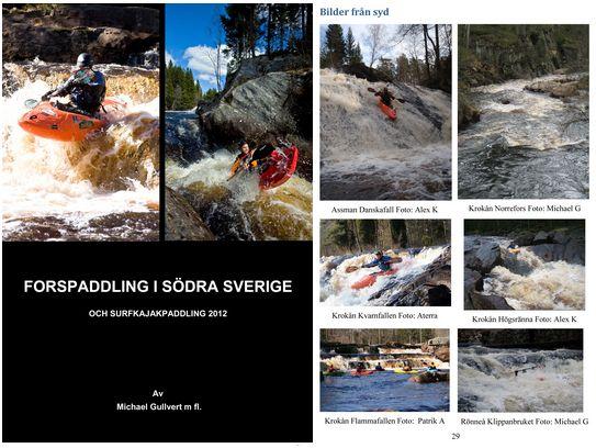 Forspaddling i södra Sverige bok