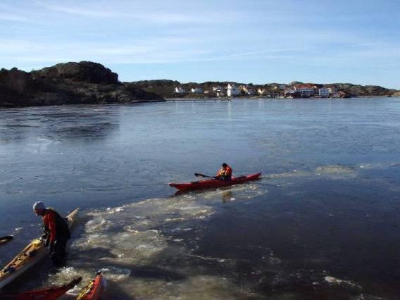 Paddling is Fiskebäckskil Kristineberg