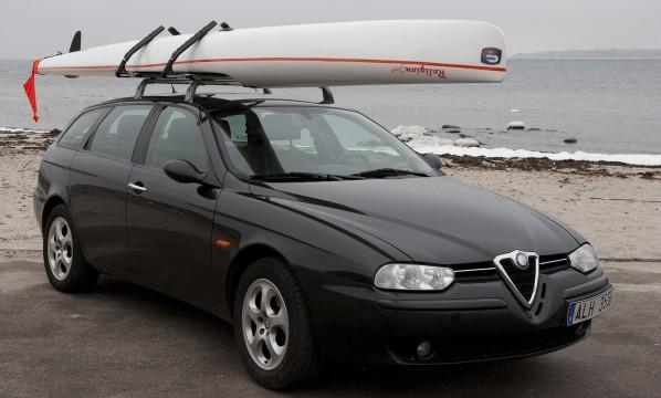 LockRack transportsystem för kajaker och surfskis på biltak