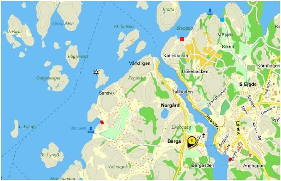 Hamburgsund isttningsplatser paddling