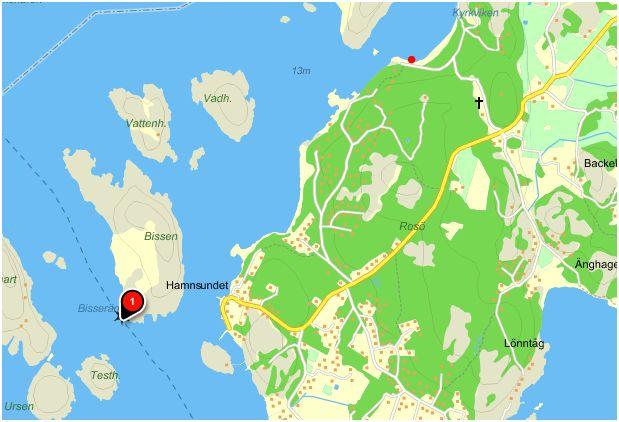 resø sverige kart Isättningsplats Resö | Kajakrapporten resø sverige kart
