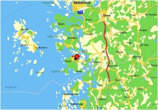 Isättningsplatser Rossö Tjärnö