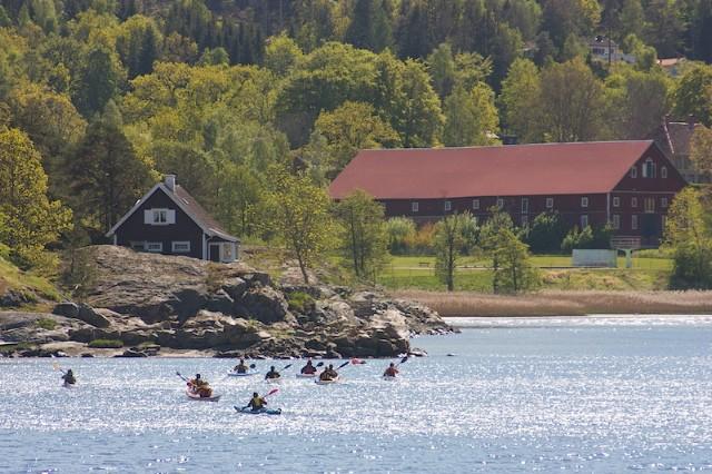 Paddling Gustavsberg, Uddevalla. Foto Joakim Hermanson, Upplevelsebolaget.