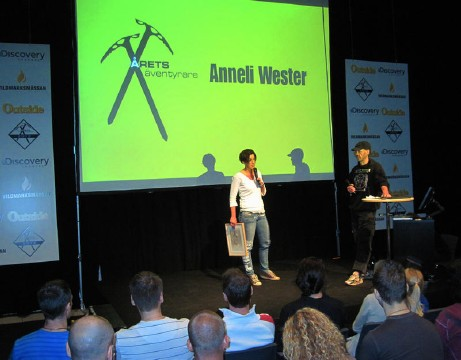 Årets äventyrare Anneli Wester