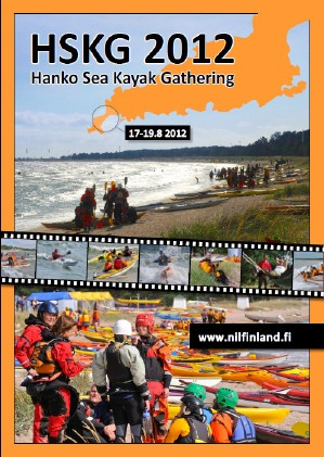Hanko Sea Kayak Gathering poster