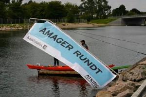 Amager Rundt paddling