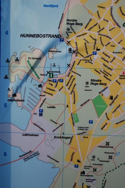 Hunnebostrand karta