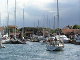 Käringön hamnen sommartid