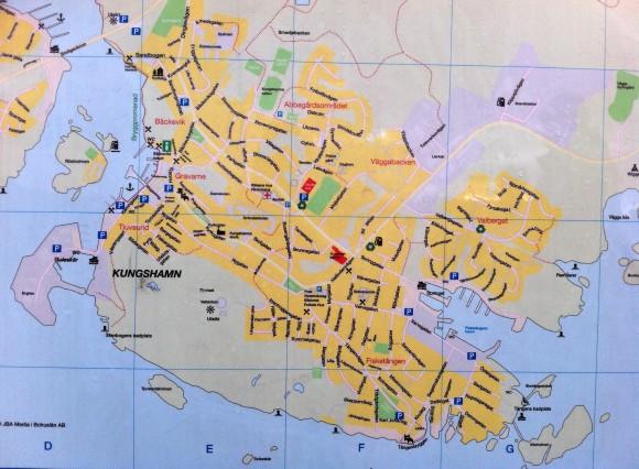 Karta Kungshamn