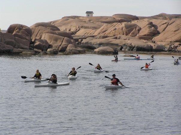 paddling Lysekil