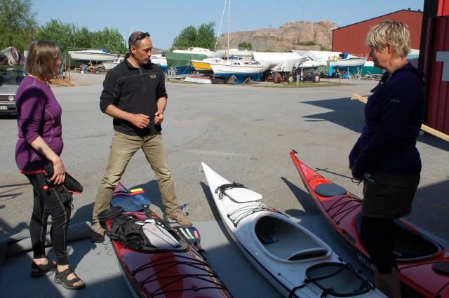 Nick Cunliffe at Nautopp Seakayaking Sweden