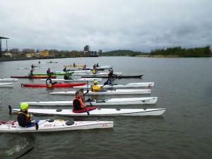 Göteborgs paddelrace. Foto Martin Stegmann