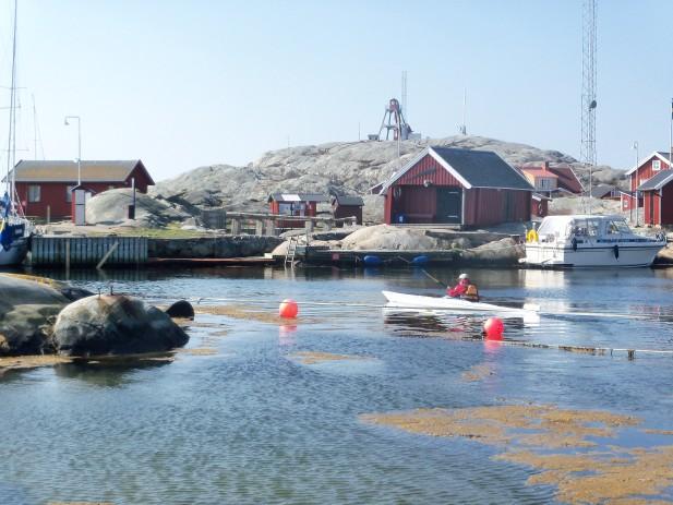Väderöarna hamn paddlare