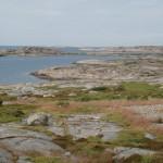 Dannholmen Fjällbacka skärgård kontur