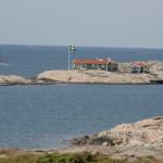 Ingrid Bergmans hus på Dannholmen. Copyright Kajakrapporten.se