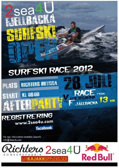 Fjällbacka Surfski Open poster