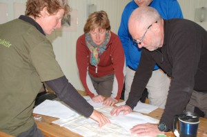 Tris Burke leder väderpass på Kajakkalaset