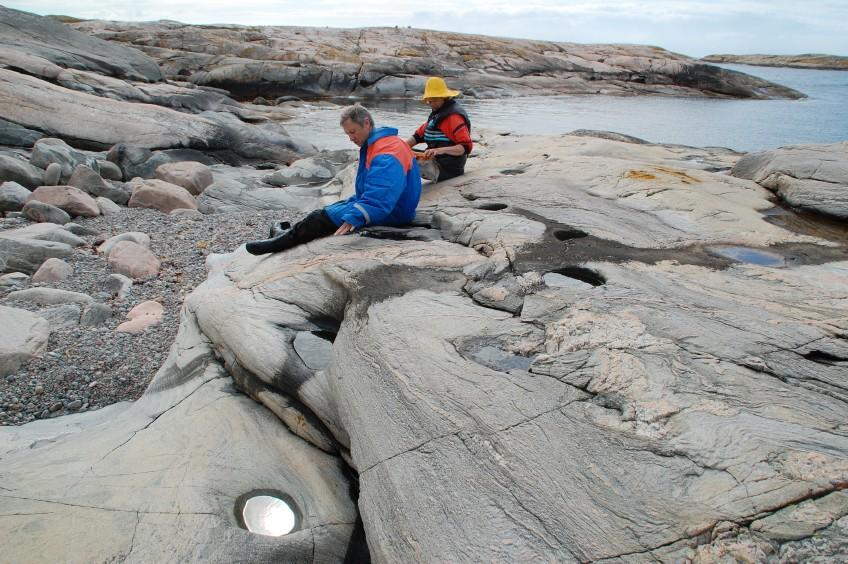 Jättegrytor Långeskär Fjällbacka skärgård