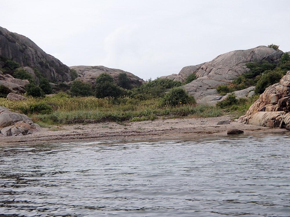 Norra Dyngön Fjällbacka skärgård sandstrand