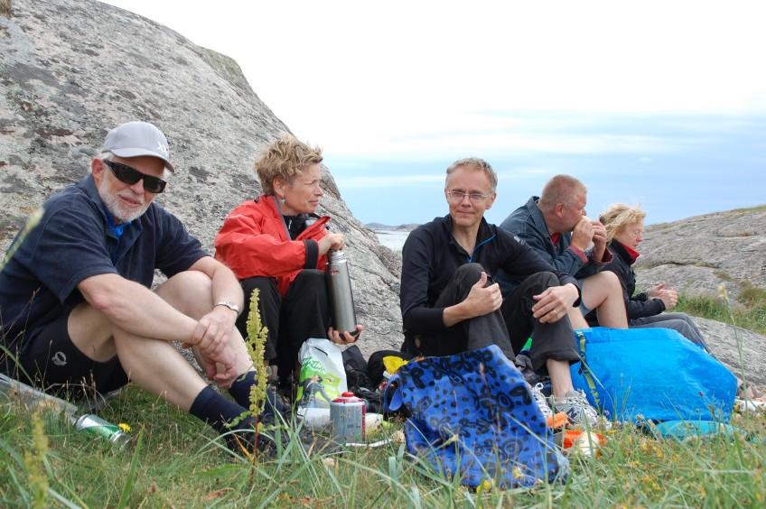 Paddling Stora Måkholmen Fjällbacka skärgård