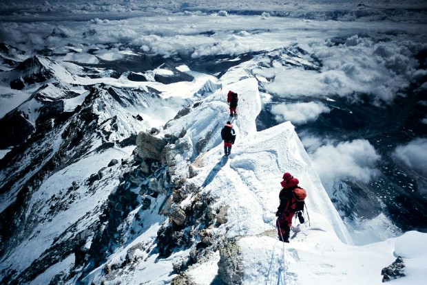 Fredrik Sträng on Mt Everest