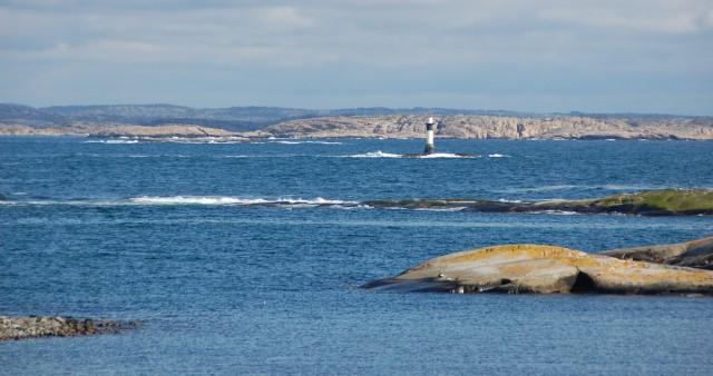 Tjurpannans naturreservat sett från Ulsholmen