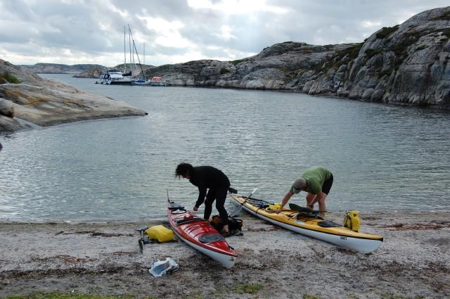Ulsholmen paddling