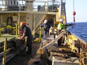 Sjöfartsverket arbete med sjömärken
