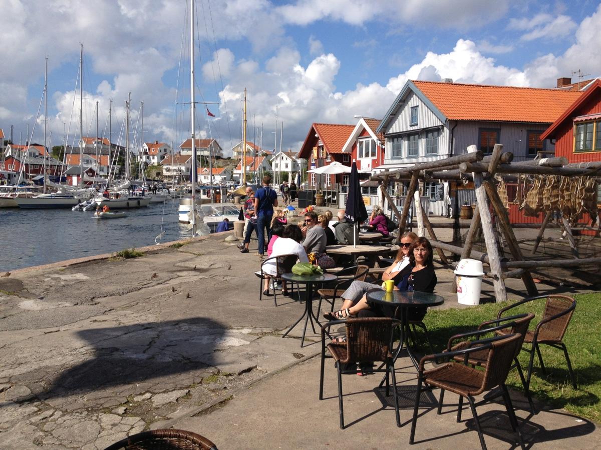 Strandhugg i Mollösund