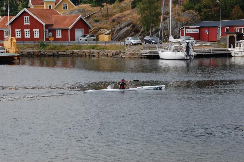 Urban Wedberg Orust runt paddling 2012