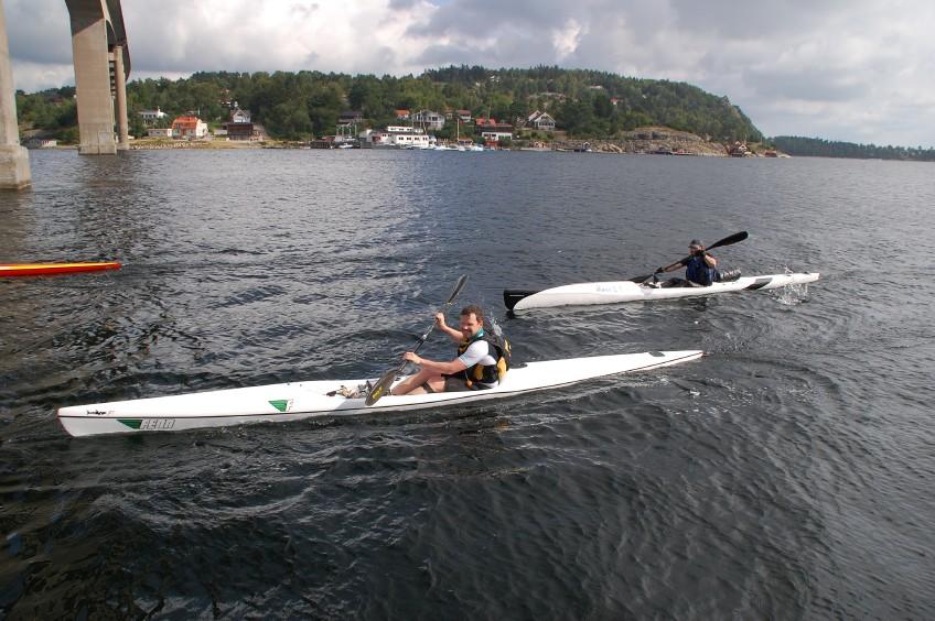 Paddling orust runt 2012 Vindön