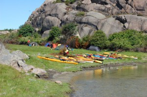 Keö paddling