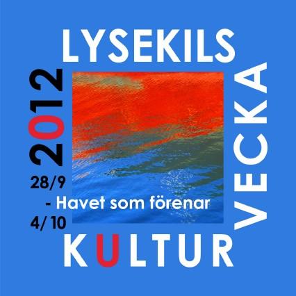 Lysekils kulturvecka 2012 logo