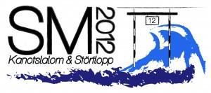 Logo SM kanotslalom störtlopp 2012